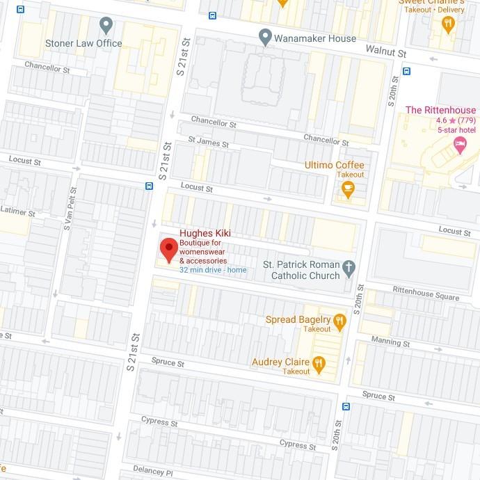 Kiki Hughes Map